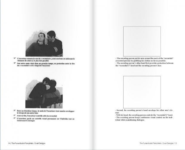 Leaked French police manual / Excerpt of Lambert, Cruel Designs, 14-15.